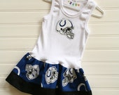 Indianapolis Colts Dress Available 0-3 months through Size 6/8