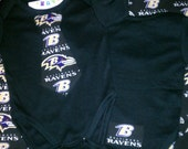 Baltimore Ravens Tie Shirt or Onesie Available 0-3 months through Size 10/12