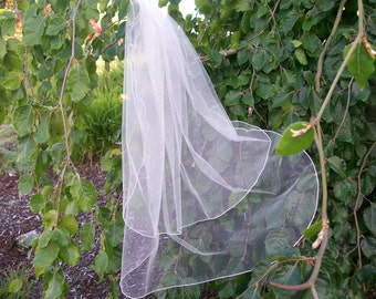Ivory 2 Layer  Wedding Veil - 31""