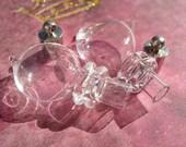 2 Blown Glass Magic Potion Bottles -  D.I.Y. Trueblood Pendant Harry Potter Potions