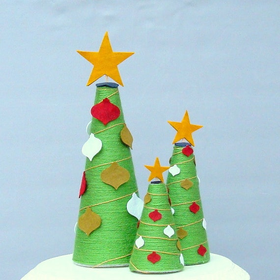 Green And White Christmas Tree: Unavailable Listing On Etsy