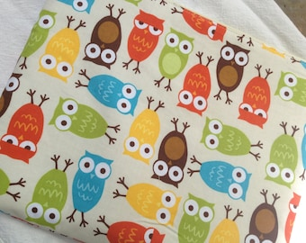 Colorful Owls iPad or Tablet Case, Windows Surface Tablet Case, Nook HD+ Case