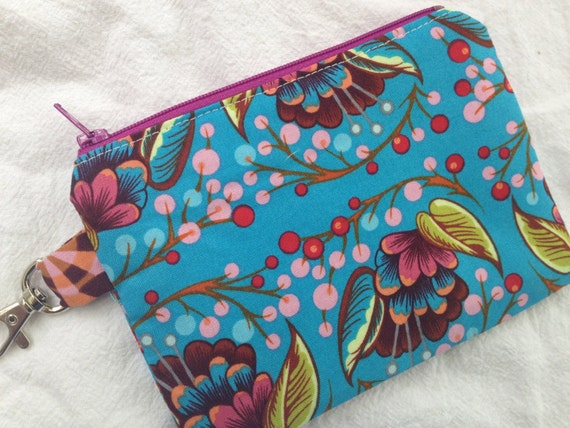 Modern Paisley Small Zippered Pouch 2