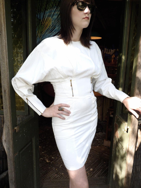 Straight Jacket Dress Xs Lady Gaga Costume By