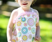 Summer Bubble (girl or boy) Pattern Tutorial Instructions - Sizes 6mo, 9mo,12mo, 18mo,24mo