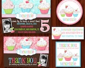 Sweet Shoppe Cupcake Printable Party Package