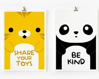 Children Decor Good Manners Flash Cards, Kids Wall Art set of 15 in 4 x 6 , Children Room Decor, Nursery Art, Classroom Decor