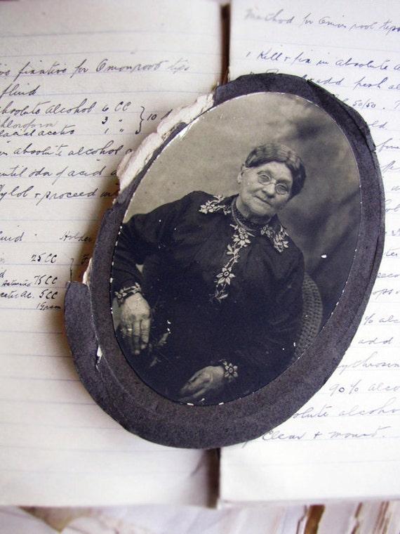 antique photograph - grandmother
