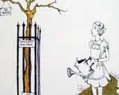 Upright Hilda by Donald Hutter & Barbara Byfield 1968 Mid Century Children's Book - First Edition Near Mint
