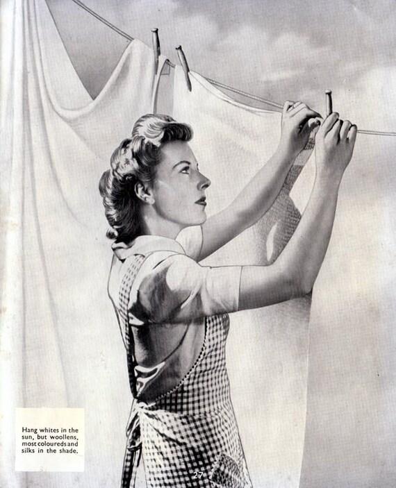 1940s Vintage Hoover Washing Machine Manual - Model 0307