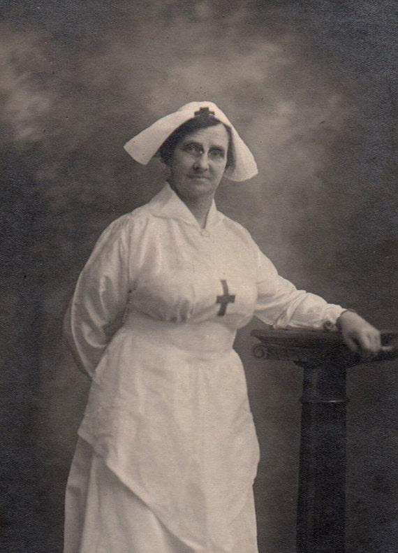 Nurse or Matron Portrait Vintage Photograph - World War I Broken Hill, Australia