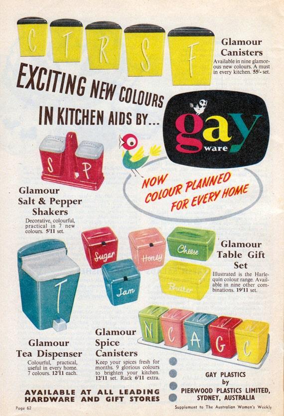 1950s Dione Lucas Cookbook - Australian Women's Weekly Great 1950s Advertisements