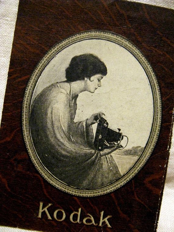 Early Kodak Film Wallet 1910s - 1920s Australia