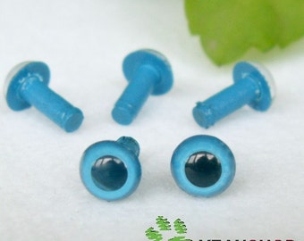 5mm Blue Safety Eyes / Plastic Eyes - 10 Pairs