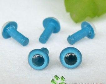 5mm Blue Safety Eyes / Plastic Eyes - 10 Pairs