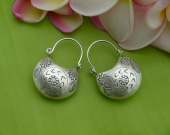 Fine Silver Earrings - The Lucky Silver Bag(1)