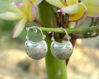 Hilltribe Silver Earrings - The Lucky Silver Bag(4)