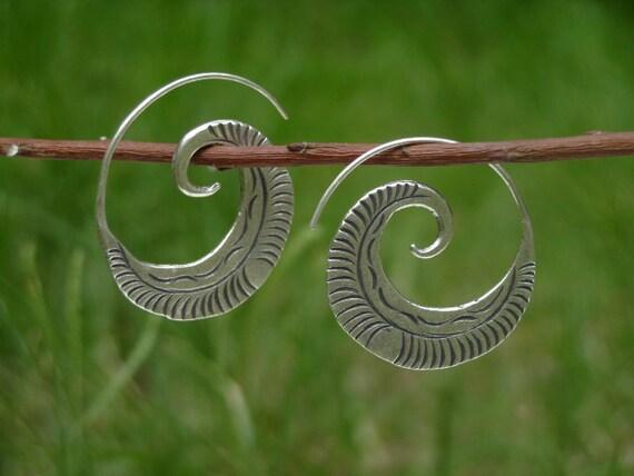 Silver earrings-The Silver One (5)