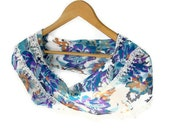 Was 15 NOW 12,75scarf,cotton fabric,soft,fashion trend,floral,multicolor scarf,Puton be STYLISH,by seno