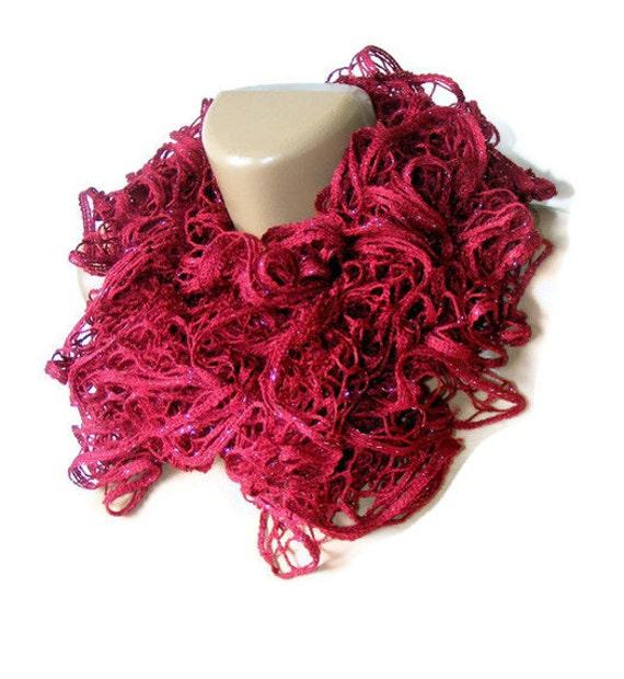 Valentines day,Hand Knit scarf,scarves,Knitting scarf,maroon scarf,women scarf,2013 new trends,fashion scarf,burgundy