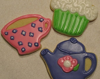 Tea Party Cookies 2 dozen