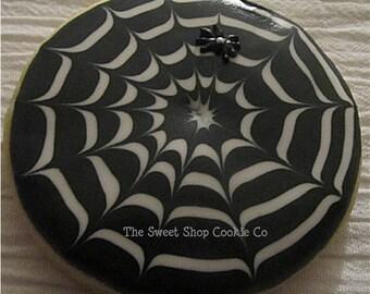 Spider Web Cookies 2 dozen
