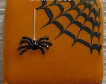 Dangle Spider Web Cookies 2 dozen
