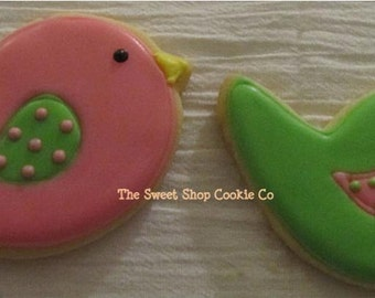 Bird Cookies 3 dozen