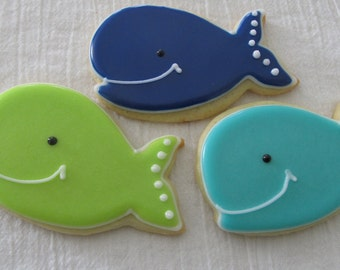 Whale cookies 4 dozen