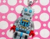LEGO Robot Man Minifig Necklace