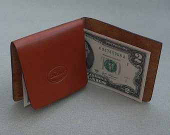 Billfold, leather billfold, minimalist billfold, leather wallet,  mens wallet, classic billfold, simple billfold, garny