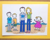 Family Card (Large Group)