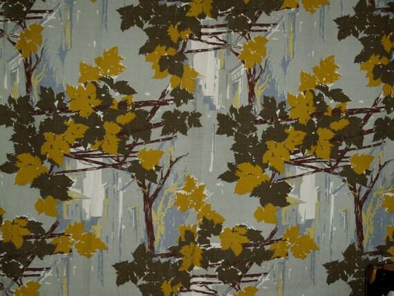 gorgeous bark cloth curtain