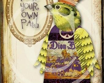 Inspirational Zetti Bird - Digital Download