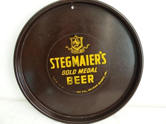 Stegmaier Beer bar tray.