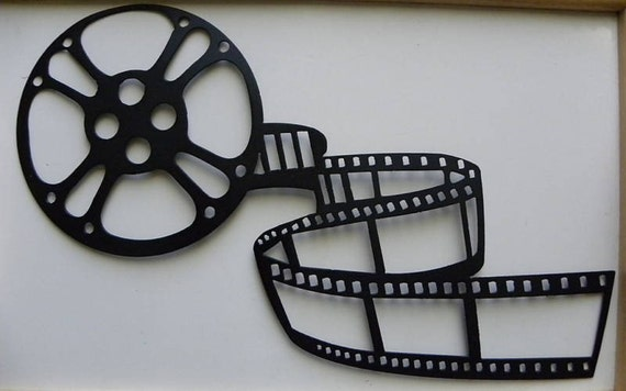 Metal Wall Art Movie Theater Home Decor Movie by ...