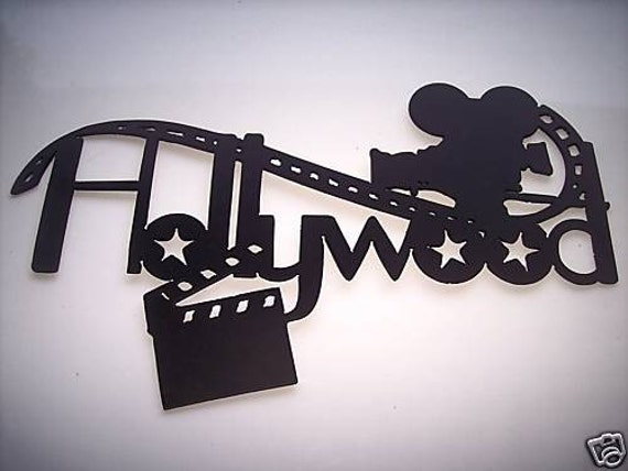 Hollywood Movie Camera And Film Home Movie By
