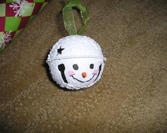 Snowman Ornament Bell