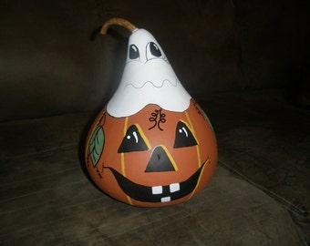 Handpainted Pumpkin Gourds