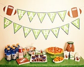 TOUCHDOWN Football Birthday Party Package