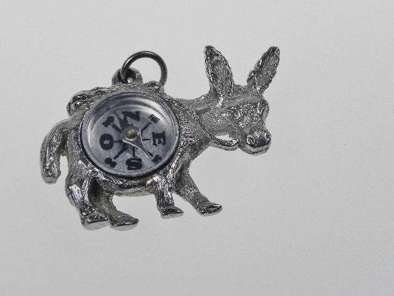 SALE Donkey Compass Charm/Pendant