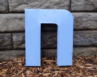 N - Metal letter - 14 inch