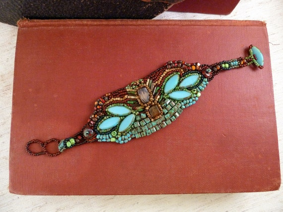 Bracelet Inspired by Picasso's Blue Period (Reserved Listing for: DRICHARDS61)