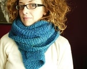 Extra Long Blue Scarf