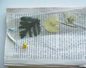 SALE blossom - flower bookmark
