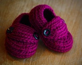 Baby Loafers - Wild Berry