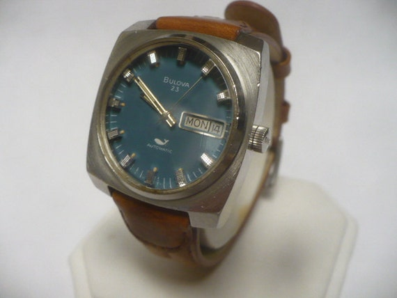 Reserved Mens Watch Bulova Whale Automatic 1971