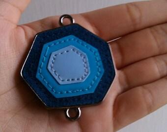 Blue Moon Varnish Metal Geometric Pendant