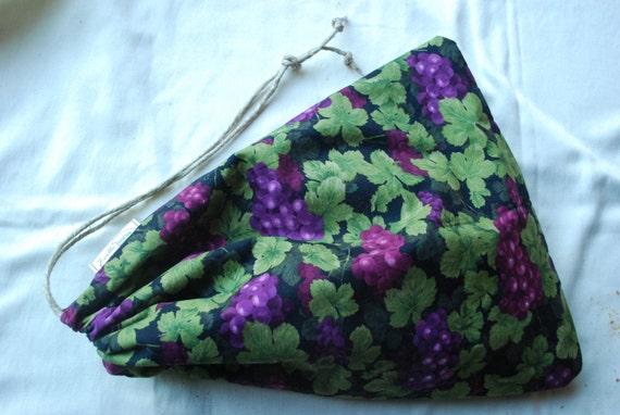 J-ville Bread Bag:  Evening Grape