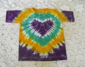 """Tie dye Mardi Gras shirt-  All custom dyed, and shipped within a week! - I """"heart"""" the Mardi Gras, 300"""